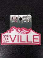 SDS FOR THE VILLE RUGGED STICKER